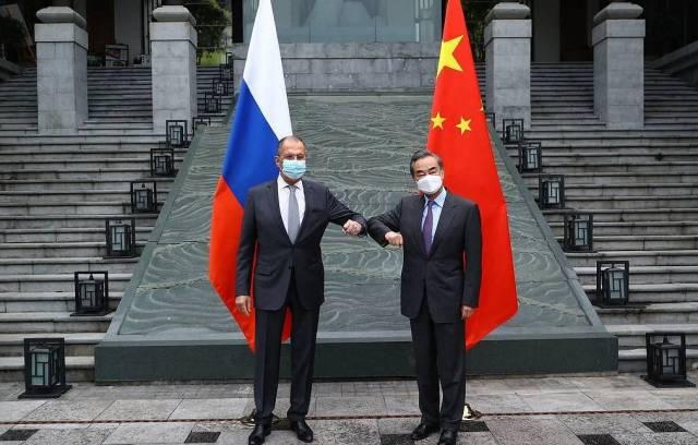 Lavrov Wang Yi
