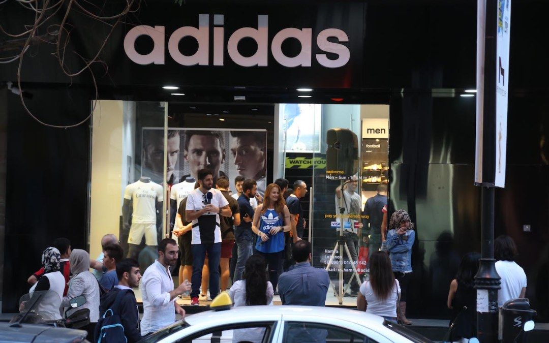 adidas Hamra branch relocates from Makdessi Street to Hamra Main Street Beirut