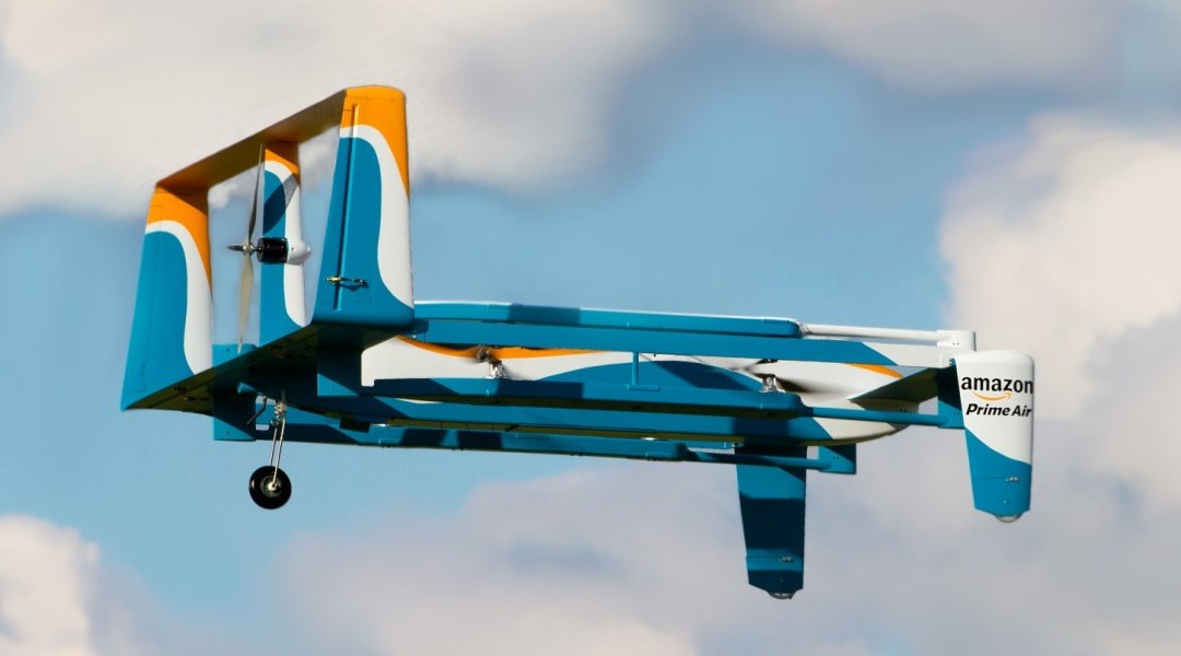 Amazon and UPS are squaring up over delivery drones but the approaches are very different