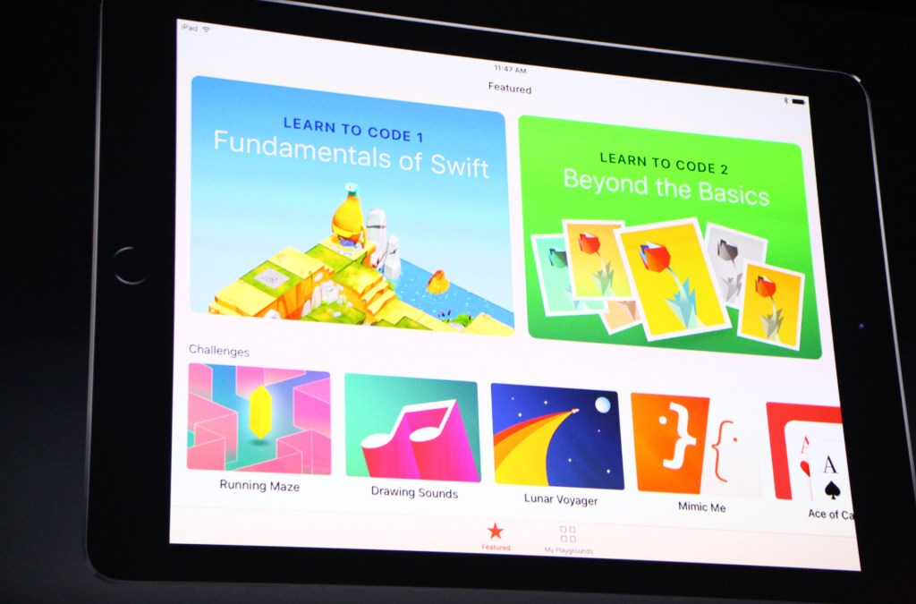 Swift Playgrounds for iPad: Apple wants to teach kids