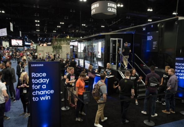 Samsung E3 Gaming Experience Hits The Road