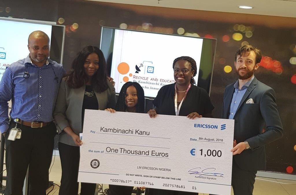 Ericsson Announces 10 year old Nigerian As The Winner Of Its Global Competition Girls Who Innovate
