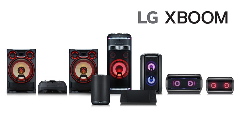 XBOOM Audio Products By LG Electronics and Meridian