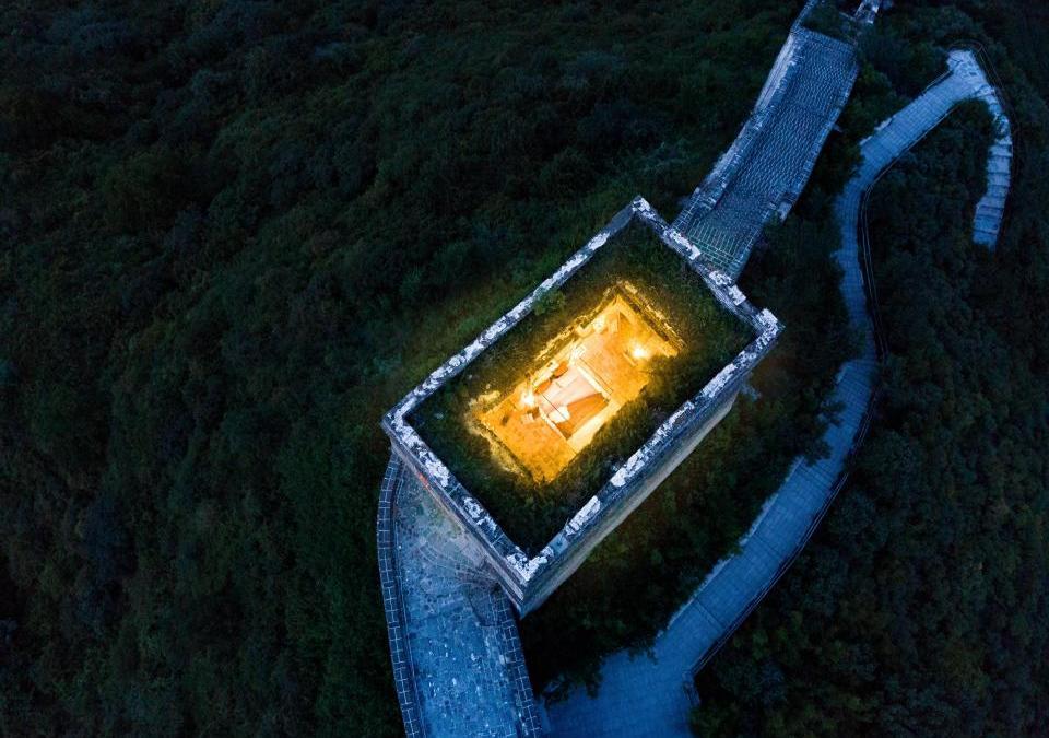 Sleep ON The Great Wall of China