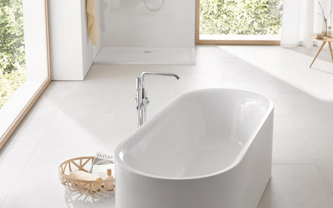 Beauty in Its Purest Form: GROHE Launches New Ceramic and Bathtub Line Essence