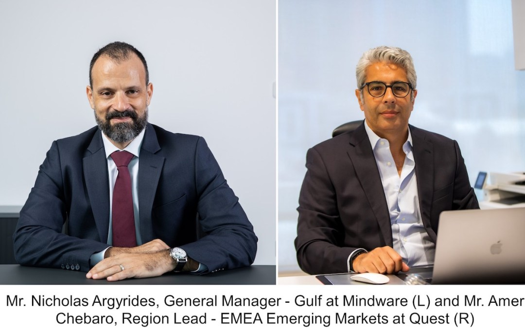 Mindware and Quest Sign Distribution Agreement for the GCC and Levant
