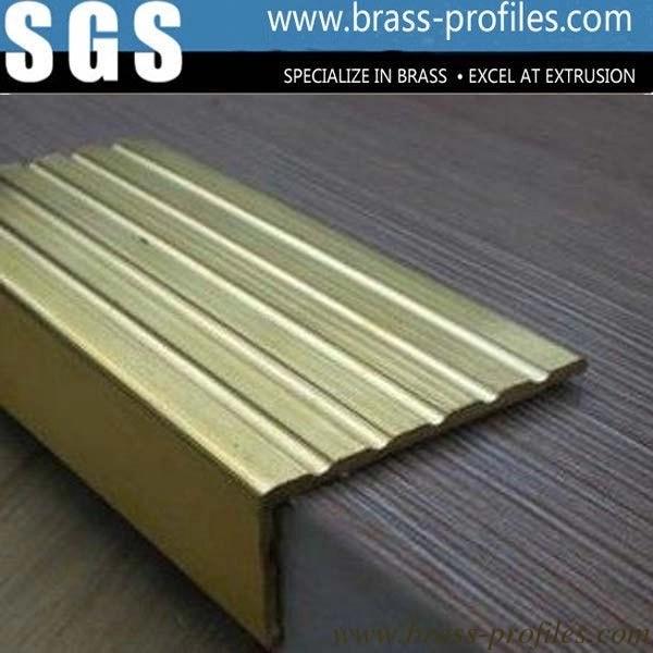copper extruding profile antique brass profiles decorative brass profiles