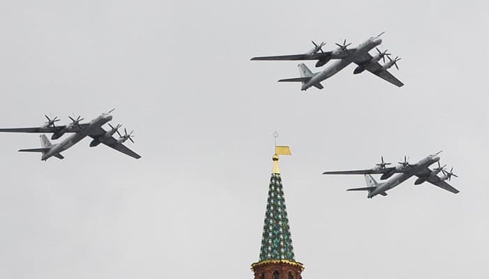 Russia's long-range bombers to conduct patrol missions