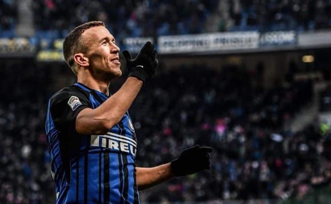 Serie A Ivan Perisic Hat Trick Against Chievo Verona