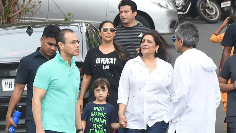 Image result for Gauri Khan's church day out with AbRam