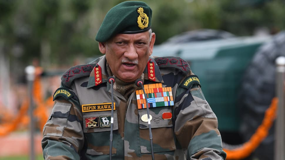India has right over entire J&K, including PoK; political decision on how to take it back : General Bipin Rawat