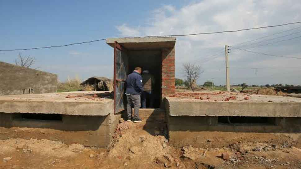 Thousands of bunkers being constructed for safety of citizens in villages near LoC in Jammu and Kashmir