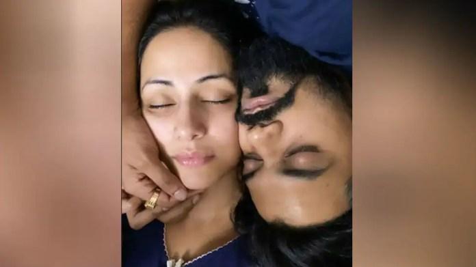हिना खान और ब्यू रॉकी जायसवाल ने सबसे रोमांटिक तरीके से होली मनाई, तस्वीरें वायरल हुईं