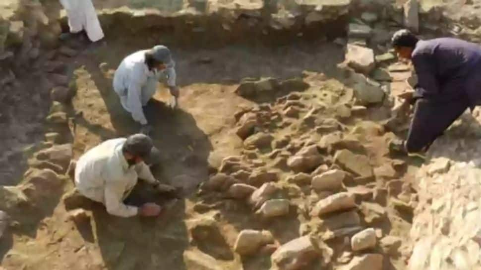 1300-year-old Lord Vishnu temple discovered in Pakistan's Swat district |  World News | Zee News