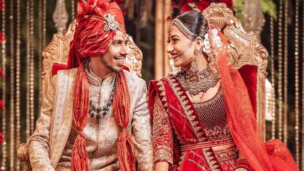 Cricketer Yuzvendra Chahal and YouTuber wife Dhanashree Verma's wedding video is trending high – Watch
