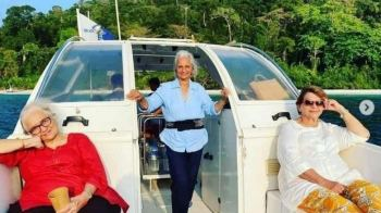 Veteran actresses Waheeda Rehman, Asha Parekh and Helen share their 'Dil Chahta Hai' moments from Andamans!