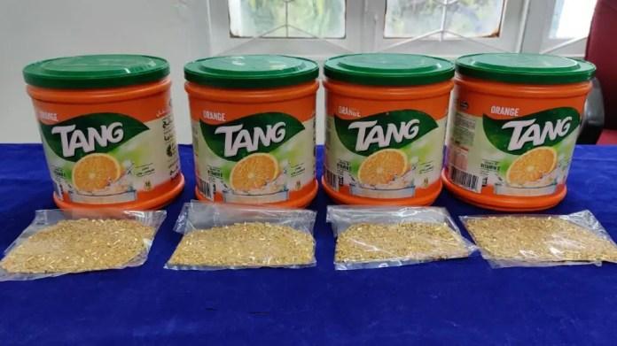 Chennai: 2.5 kg gold granules hidden in juice powder mix seized by Air Customs