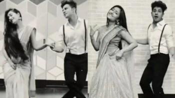 'Ek Ladki Bheegi Bhagi Si': Yuzvendra Chahal's wife Dhanashree Verma performs on Kishore Kumar's classic song, video goes viral – WATCH