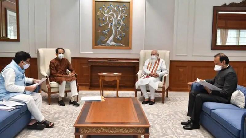 Maharashtra CM Uddhav Thackeray, state cabinet ministers meet PM Narendra Modi, discuss Maratha quota, Cyclone relief aid