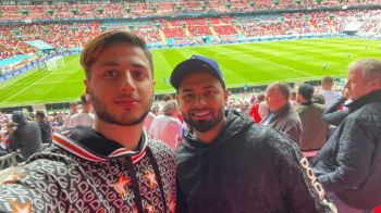 Euro 2020: Rishabh Pant turns up at Wembley to watch England-Germany tie, fans ask 'Where's the mask?'