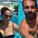 Bipasha Basu and Karan Singh Grover mushy love inside a pool is too hot to handle 💥👩👩💥