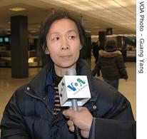 Yu Ling, wife of Chinese dissident Wang Xiaoning