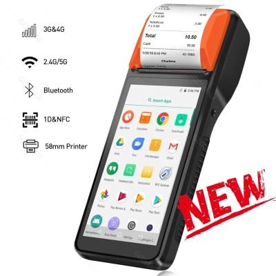 Terminal Android avec lecteur code barre et NFC