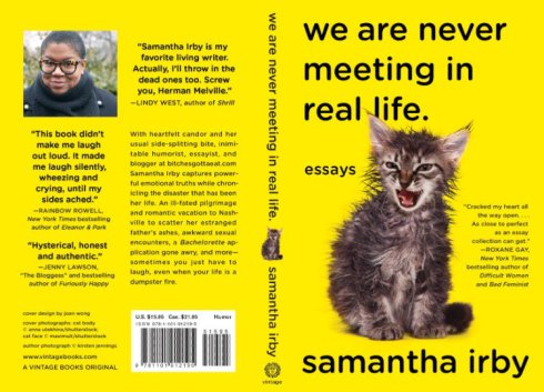 Image result for samantha irby we are never meeting in real life