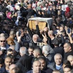 Thousands at funeral of Arab Israeli killed in Australia