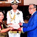 Five envoys present credentials to President