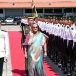 Brunei rolls out red carpet for PM