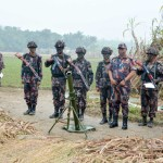 BGB chief visits Army-BGB joint winter drill in Faridpur