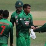 Hasan hat-trick takes Bangladesh U19 closer to knockout stage