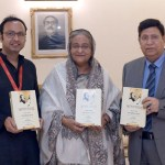 PM launches book on speeches of Bangabandhu