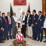BDRCS team meets President
