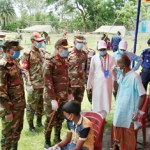 Army gives free medical treatment to 150 Bagerhat people