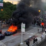 Clashes across US over black man's death by police