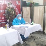 Bangladesh Army give free treatment to pregnant women in Naogaon