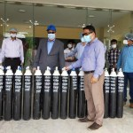 3 Ctg hill tracts get oxygen cylinders