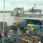 Ferry services disrupt on Shimulia-Kathalbari route severely