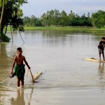 Floods hit 18 districts; 8 dead