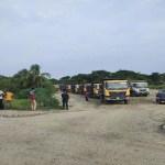 PBRLP suppliers, subcontractors in difficulties for road block
