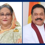 Sheikh Hasina greets Lankan PM on polls victory