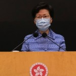 US imposes sanctions on Hong Kong's Lam, other officials over crackdown