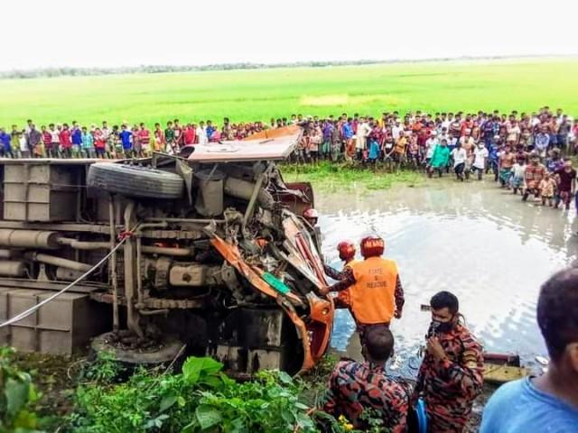 4 killed in Magura bus collision