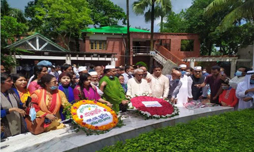 Additional AG pays homage to Bangabandhu
