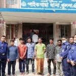 6 robbers held in Khulna
