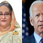 PM Hasina greets new US President Joe Biden