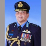 BAF chief leaves for India