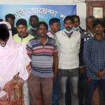 Woman among 17 brokers held at RMCH